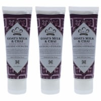 Nubian Heritage Goats Milk and Chai Hand Cream  Pack of 3 4 oz