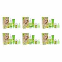 Garnier Nutrisse Nourishing Color Creme  100 Extra Light Natural Blonde  Pack of 6 Hair Color - 1 Application
