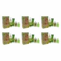 Garnier Nutrisse Nourishing Color Creme  111 Extra Light Ash Blonde  Pack of 6 Hair Color 1 A
