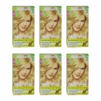 Garnier Nutrisse Nourishing Color Creme  93 Light Golden Blonde  Pack of 6 Hair Color 1 Appli