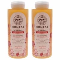 Honest Bubble Bath Gently Nourishing  Sweet Almond  Pack of 2 12 oz - 12 oz