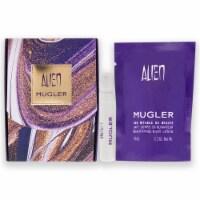 Thierry Mugler Alien 0.04oz EDP Spray, 0.3oz Beautifying Body Lotion 2 Pc Gift Set