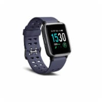 Letsfit Smartwatch Heart Rate Monitor Step Counter ID205 - Blue