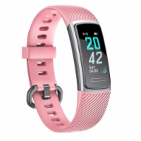 Letsfit ID152 Water Resistant Heart Rate & Activity Monitor - Pink
