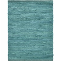 LR Resources SPECI05223CMC1117 Solid Place Mat, Teal - 1