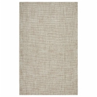 LR Home CRISS81298TUT90C0 Criss Cross Jovial Gingham Indoor Area Rug, Taupe & Teal - 9 ft x 1 - 1