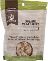 Vitacost  Organic Walnut Halves and Pieces Unsalted