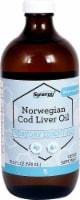 Vitacost Synergy Lemon Flavor Norwegian Cod Liver Oil - 16.9 fl oz