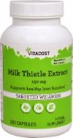 Vitacost Milk Thistle Extract Capsules - 200 ct