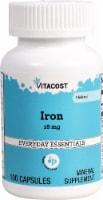 Vitacost Iron Capsules 18mg