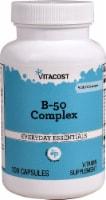 Vitacost B-50 Complex Capsules - 100 ct