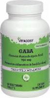 Vitacost GABA Gamma-Aminobutyric Acid Vegetarian Tablets 750mg