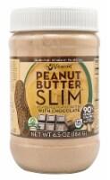 Vitacost  Powdered Peanut Butter SLIM(tm) with Chocolate - NON GMO - Gluten Free
