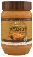 Vitacost Certified Organic Gluten Free Crunchy & Salted Peanut Butter