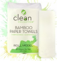 Vitacost - The Clean Collection Bamboo Paper Towel Rolls