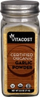 Vitacost Certified Organic Garlic Powder