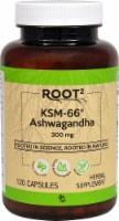 Vitacost ROOT2 KSM-66 Ashwagandha Capsules 300mg - 120 ct