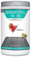Designer Whey Straw Protein Powder