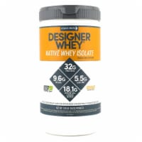 Designer Protein  Native Whey Isolate   Chocolate Milkshake