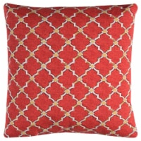 """Rizzy Home TFV083 22"""" x 22""""  Indoor/ Outdoor Pillow"""