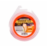 MaxPower Precision Parts Square Cut Trimmer Line Refills - Orange