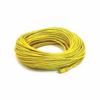 Monoprice Patch Cord,Cat 6,Booted,Yellow,100 ft.  2332 - 1