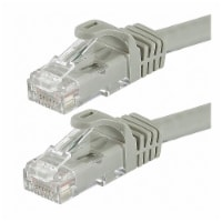 Monoprice Patch Cord,Cat 6,Flexboot,Gray,100 ft.  9803 - 1