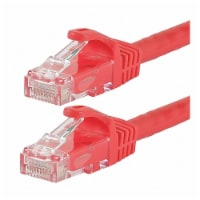 Monoprice Patch Cord,Cat 6,Flexboot,Red,0.5 ft.  9816 - 1