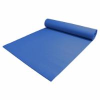 Yoga Accessories Deluxe 0.25 Inch Extra Thick Non Slip Pilates Mat, Dark Blue - 1 Piece