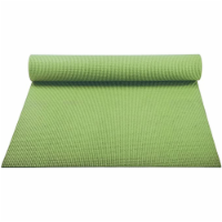Yoga Accessories Classic Lightweight 1/8 Inch Non Slip Pilates Mat, Olive Green - 1 Piece