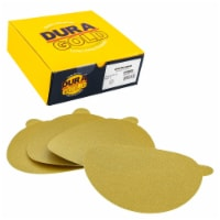 120 Grit - 6  Gold PSA Self Adhesive Stickyback Sanding Discs for DA Sanders - Box of 50 - 120 Grit - 50 Discs