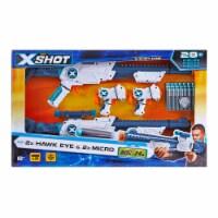 Zuru X-Shot Hawk Eye & 2x Micro Shootout Set