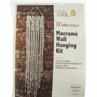 Solid Oak Macrame  Wall Hanging Kit - 1 ct
