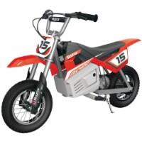 Razor MX400 Dirt Rocket 24V Electric Toy Motocross Motorcycle Dirt Bike, Red - 1 Unit