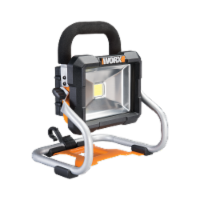Worx WX026L POWER SHARE 20-Volt Li-Ion Work Light (Battery and Charger Included) - EA