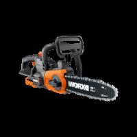 "Worx WG322.9 10"" Cordless Chain Saw, 20V Li-Ion, Auto-Tension, Auto-Oiling (Tool Only) - EA"