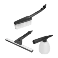 Worx WA4070 Worx household cleaning kit includes cleaning brush, soaper and squeegee - EA