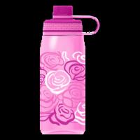 Cool Gear Print System Chug Roses Thermal Beverageware - Pink
