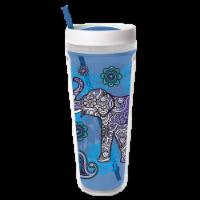 Cool Gear Printed Callisto Chiller Elephant Thermal Beverageware