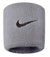 Nike Swoosh Wristbands - Gray Heather