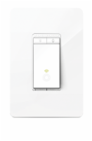 TP-Link HS220 Smart Wi-Fi Light Switch & Dimmer - White