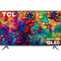 TCL 55R635 55 inch 6-SERIES 4K QLED DOLBY VISION HDR SMART ROKU TV - 1