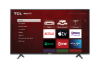 TCL Roku Smart HDR 4K TV - 65 in