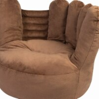 Trend-Lab 103405 21 x 19 x 19 in. Childrens Plush Glove Character Chair, Brown