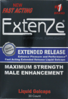 Extenze Male Enhancement Liquid Gelcaps