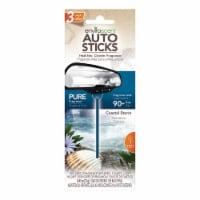 Enviroscent Coastal Storm Scent Auto Stick Air Fresheners - Blue