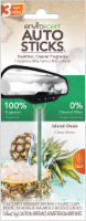 Enviroscent Island Oasis Auto Stick Air Freshener - Green