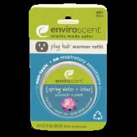 Enviroscent Spring Water and Lotus Plug Hub Scent Pod - 0.51 oz