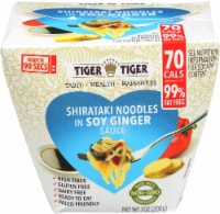 Tiger Tiger Shirataki Noodles in Soy Ginger Sauce