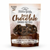 Nature's Garden Dark Chocolate Covered Pretzels - 7 oz. Bag